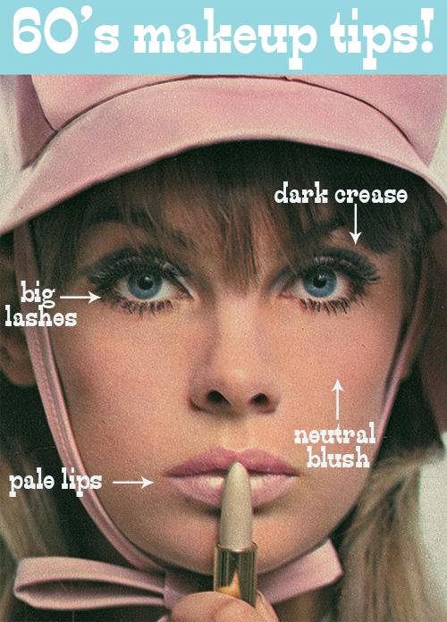 sixties makeup tips