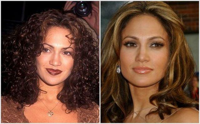 Jennifer-Lopez-antes-e-depois-da-fama