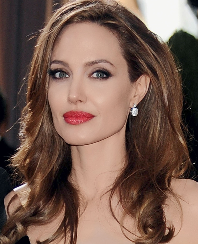 Los Angeles, CA - 02/26/2012 - The 84th Academy Awards - Arrivals, held at the Hollywood & Highland Centre . -PICTURED: Angelina Jolie -PHOTO by: Kyle Rover/startraksphoto.com -SDL_8003.jpg Startraks Photo New York, NY For licensing please call 212-414-9464 or email sales@startraksphoto.com