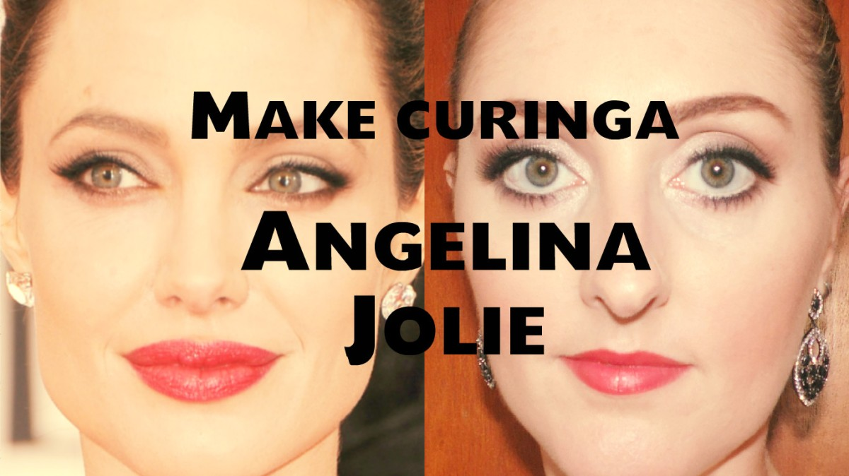 Maquiagem curinga Angelina Jolie
