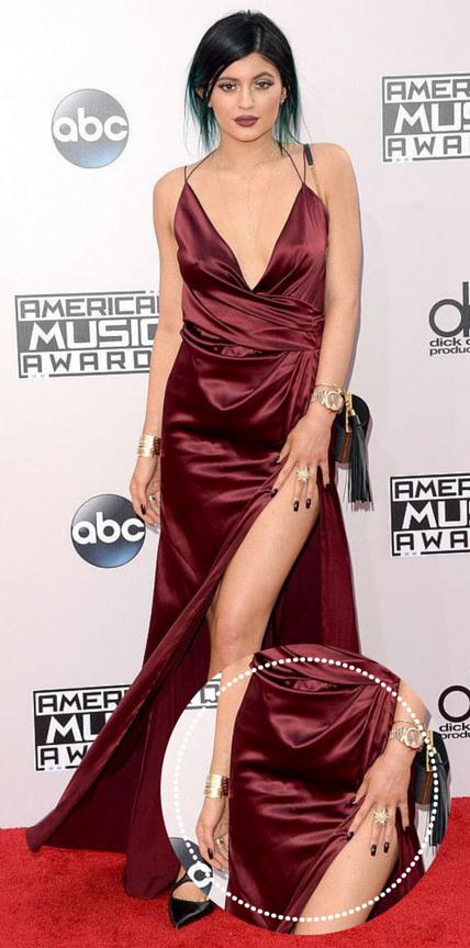 Como combinar esmalte com vestido Kylie Jenner